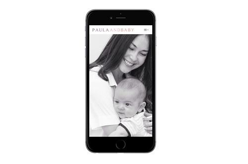 Paula and baby