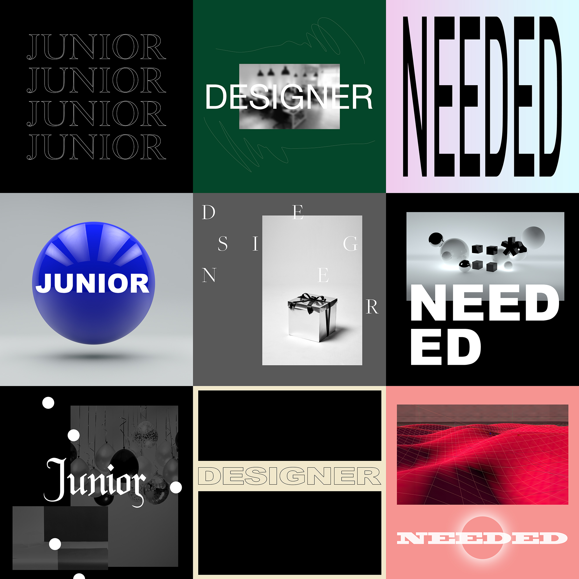 Junior designer required